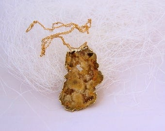 """Necklace """"Ashes of the desert"""""""