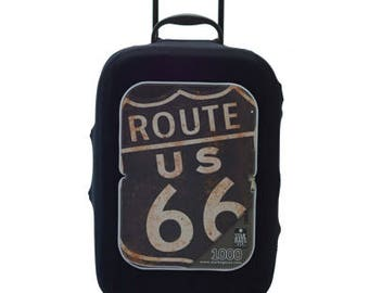 Route 66 Luggage Cover