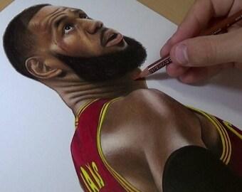 LeBron James Drawing