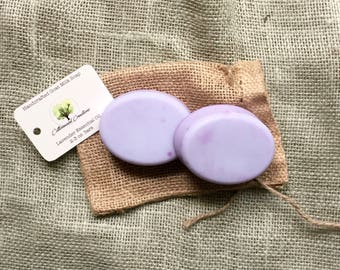 Handcrafted Lavender Essential Oil Goat Milk Soap