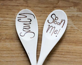 Wooden Spoons - 2 Pack