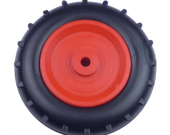 Plastic Moulded Tractor Wheels 100mm