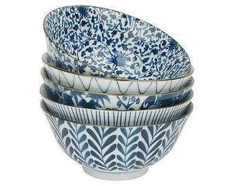 "Set of 5 bowls ""hana"""
