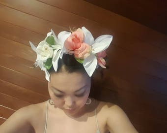 Hand Made Flower Headband