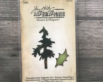 Tim Holtz Movers and Shapers Tree Diecut