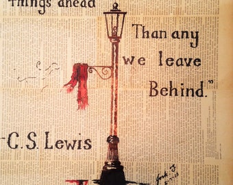 Ink Lamp Post