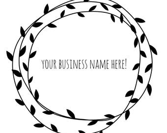 Business logo stickers
