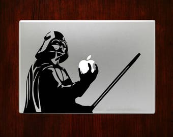 Darth Vader Lightsaber Star Wars Macbook Decal Stickers Laptop Cover