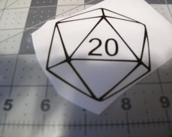 Dice Decal Etsy