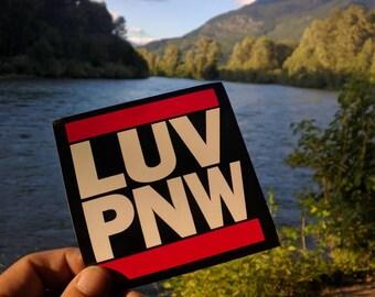 luv Pnw Sticker