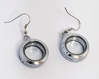 Earring Mini Locket