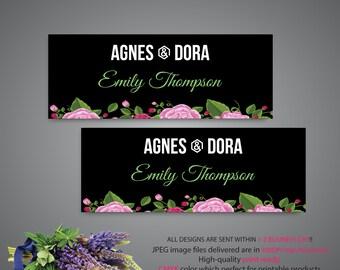 Agnes and Dora Facebook Cover, Custom Agnes and Dora Facebook Banner, Custom Agnes Banner, Agnes Dora Facebook Group Banner AG86