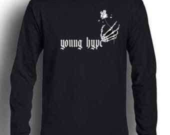 Black Creeping Hype T-Shirt