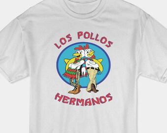 Los Pollos Hermanos T-Shirt, Breaking Bad T-shirt, Better Call Saul T-Shirt, Walter White Shirt M7
