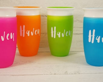 Personalized Spoutless Kids Cup