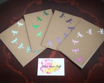 Dragonfly Cards- blank greetings card
