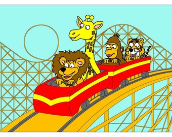 Zoomania - Roller Coaster
