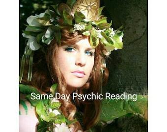 Same Day Psychic Reading Same Day