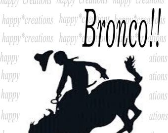 Ride That Bronco! svg, png