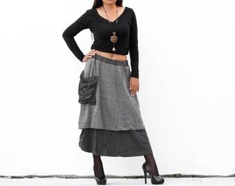 Boho Skirt Cotton Hippie Skirt Gypsy Skirt Midi Skirt Goa Skirt Bohemian skirt festival Skirt