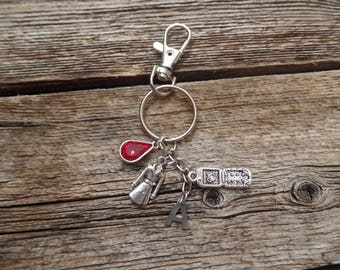 Pretty Little Liars Inspired Keychain