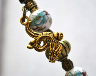 Pen-jewel beads Chinese / DRAGON