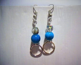 Earring beads and rings