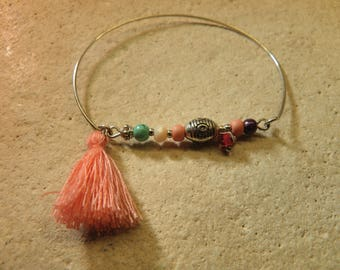 Bangle beads and tassel