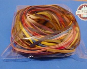 17 suedette cord multicolored 3mm