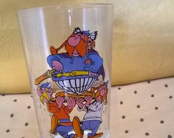 579) 1968 Asterix collection glass