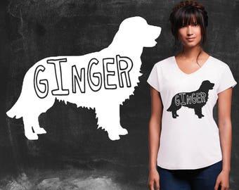 Golden Retriever | Golden Retriever Shirt | Golden Retriever Gifts | Graphic Tee | Graphic Tshirts | Oregon Tee Company