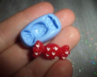 Mold candy 2cm / 1 cm for molding polymer clay