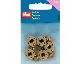 5 snaps beige sewing Prym 14 mm