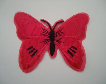 patch Thermo - application - Butterfly - pink