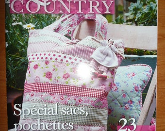 magazine QUILT COUNTRY - n. 1 - 2008 - neuf