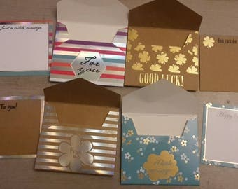 Cards with envelope