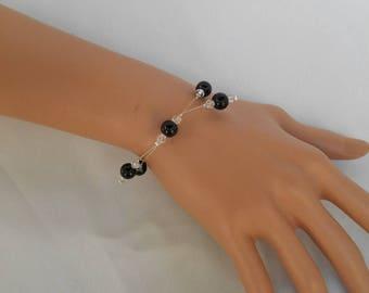 Black pearl bracelet PERLICA