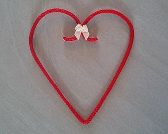 Heart wall hanging cotton