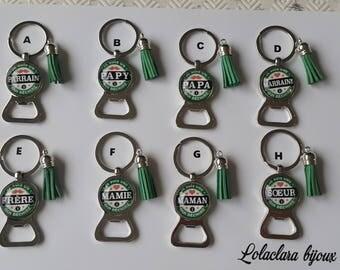key ring bottle opener by lolaclarabijoux family