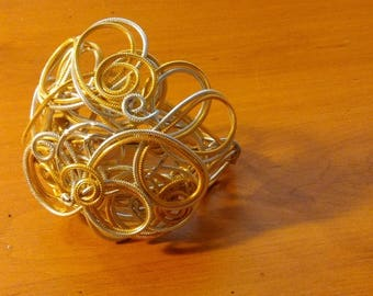 Jewelry for gold and silver 2mm aluminium wire hair.