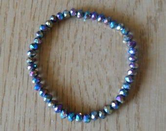 Kids elastic bracelets various colors
