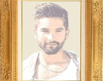 Celebrity haters Girac counted cross stitch