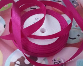 1 meter of 20mm fuchsia satin ribbon