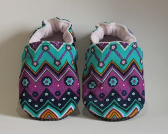 Soft baby girl boy booties * custom *.