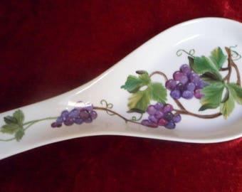 Spoon rests large vine pattern