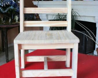 wooden kids Chair