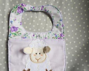 Infant 3D lamb bib