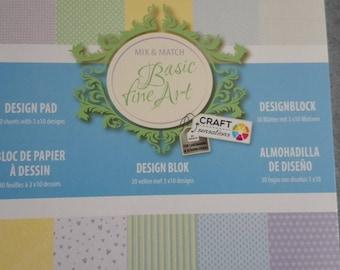 Block paper to create 10 different designs