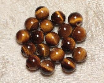 Bead hole 2.5 mm - 10 mm 4558550024916 Tiger eye stone
