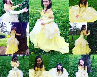 Dress Princess Belle from beauty and the beast